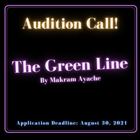 Green Line Auditions Graphic